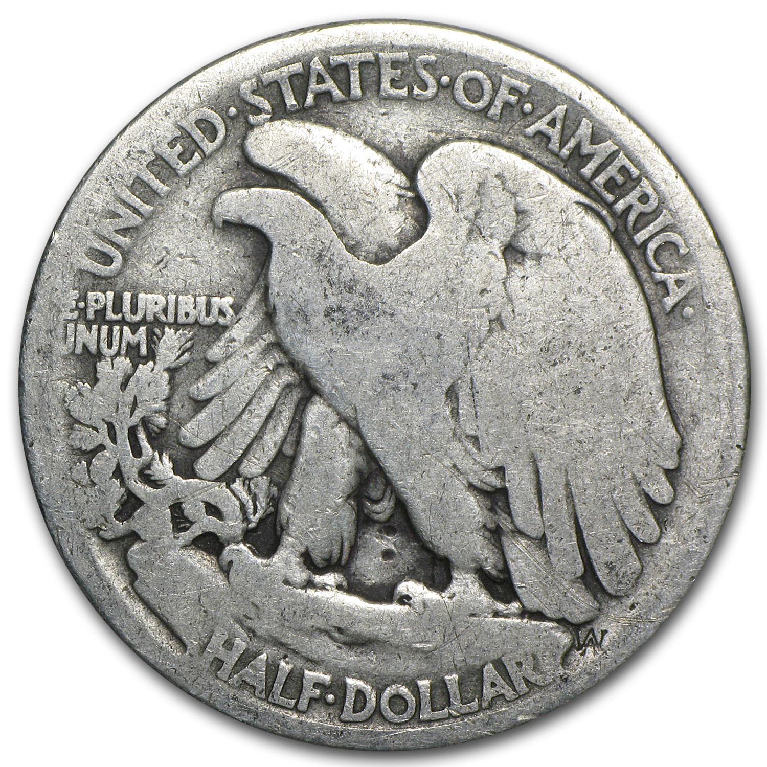 1916-D Walking Liberty Half Dollar AG